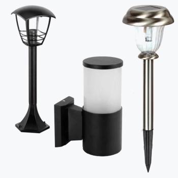 Светильники и плафоны уличные