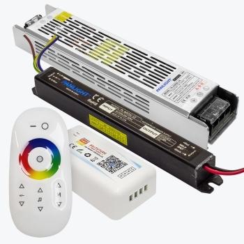 Блоки питания, контроллеры и комплектующие для светодиодной ленты