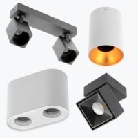 Декоративные накладные светильники
