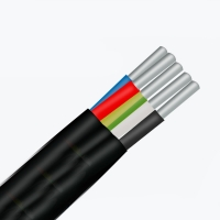 Кабель электрический АВВГ 5x6 мм² (E)